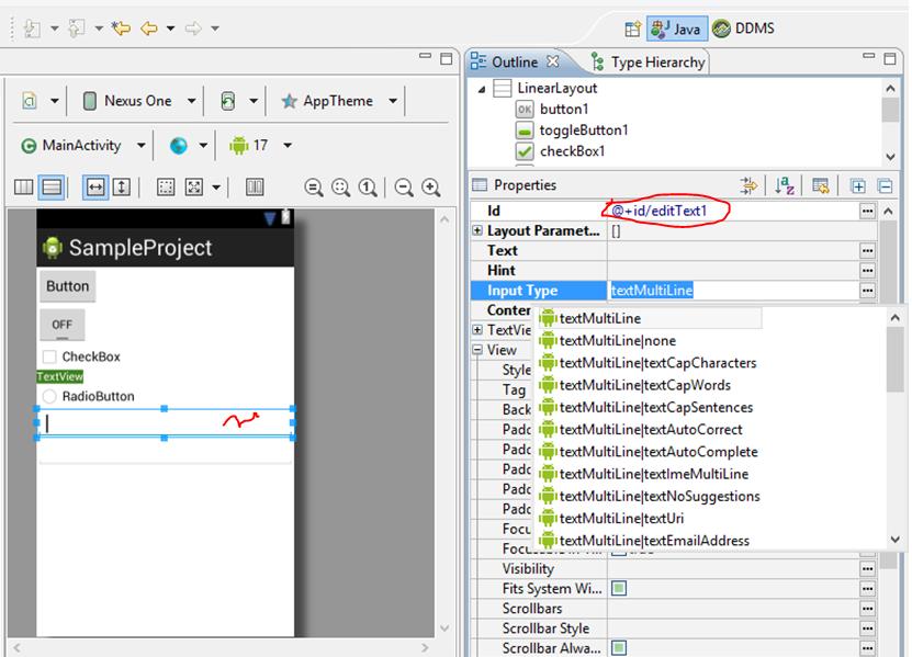 Bài tập 10: Sử dụng TextView, EditText và Button trong Android