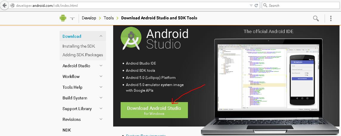 Làm quen với môi trường lập trình Android Studio – Phần 1