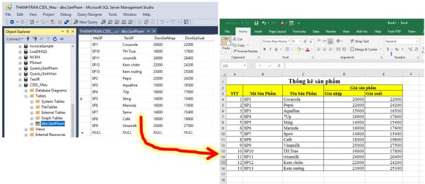C#-Xuất dữ liệu SQL Server ra Excel để báo cáo | Advanced